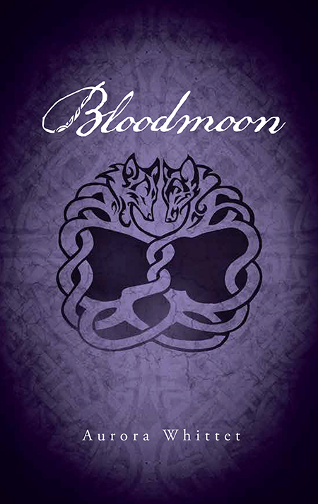 Young Adult Fantasy Werewolf Novel Bloodmoon book design by by Aurora Whittet Best of Red Organic