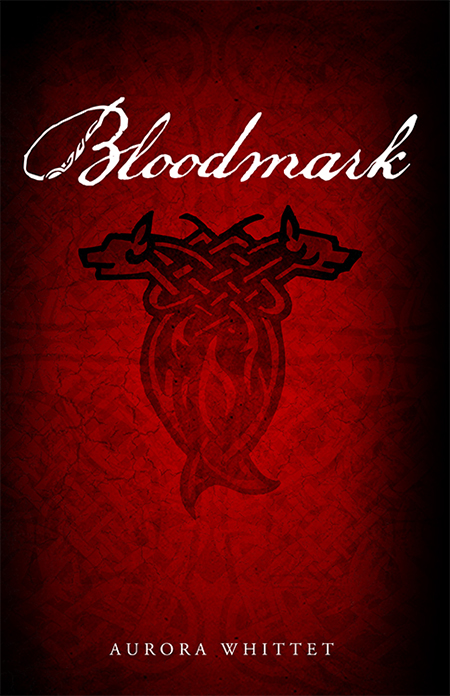 Young Adult Fantasy Novel Bloodmark book design by by Aurora Whittet Best of Red Organic