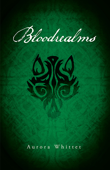 YA Fantasy Novel Werewolf Princess Bloodrealms book design by by Aurora Whittet Best of Red Organic