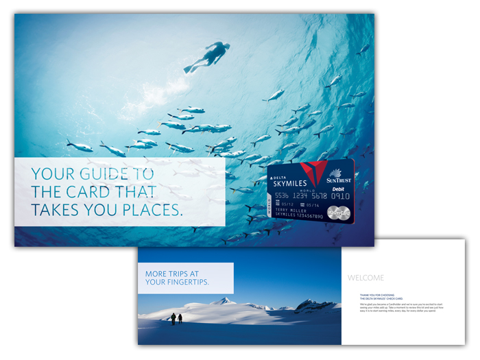 Delta Airlines Debit Card by Aurora Whittet Best