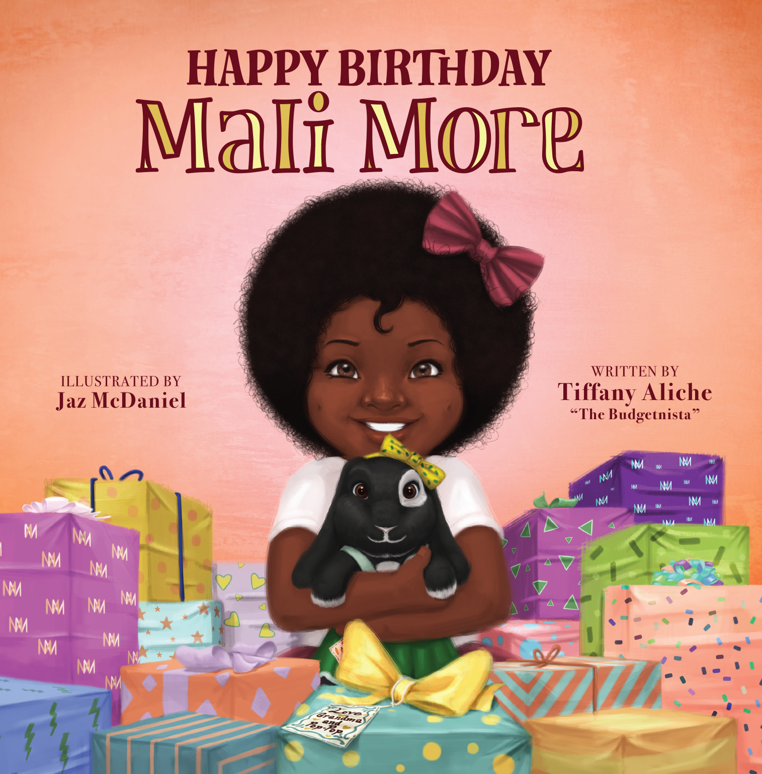 Mali More By Tiffany Aliche Mali More interior and typography design by Aurora Whittet Best