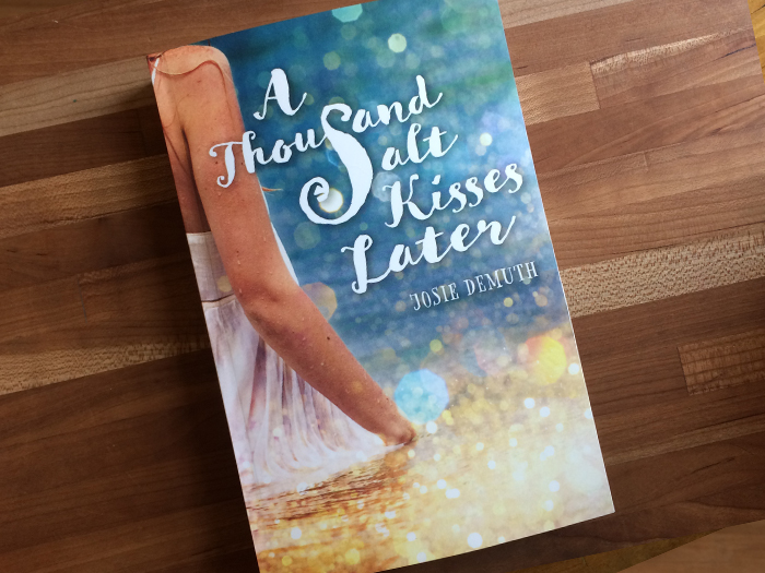 A Thousand Salt Kisses Later book design by Aurora Whittet Best of Red Organic