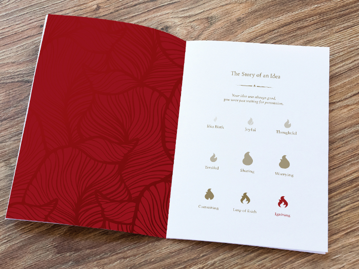 Ignite Marketing Brochure by Aurora Whittet Best of Red Organic