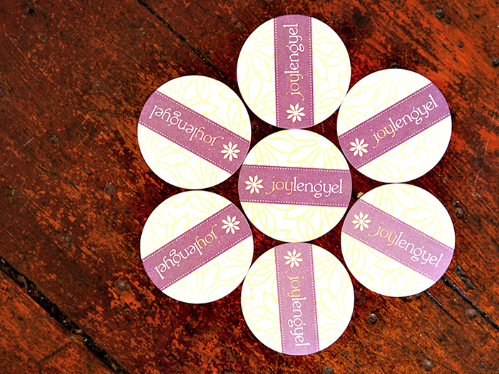 Joy Lengyel Photography Round Business Cards