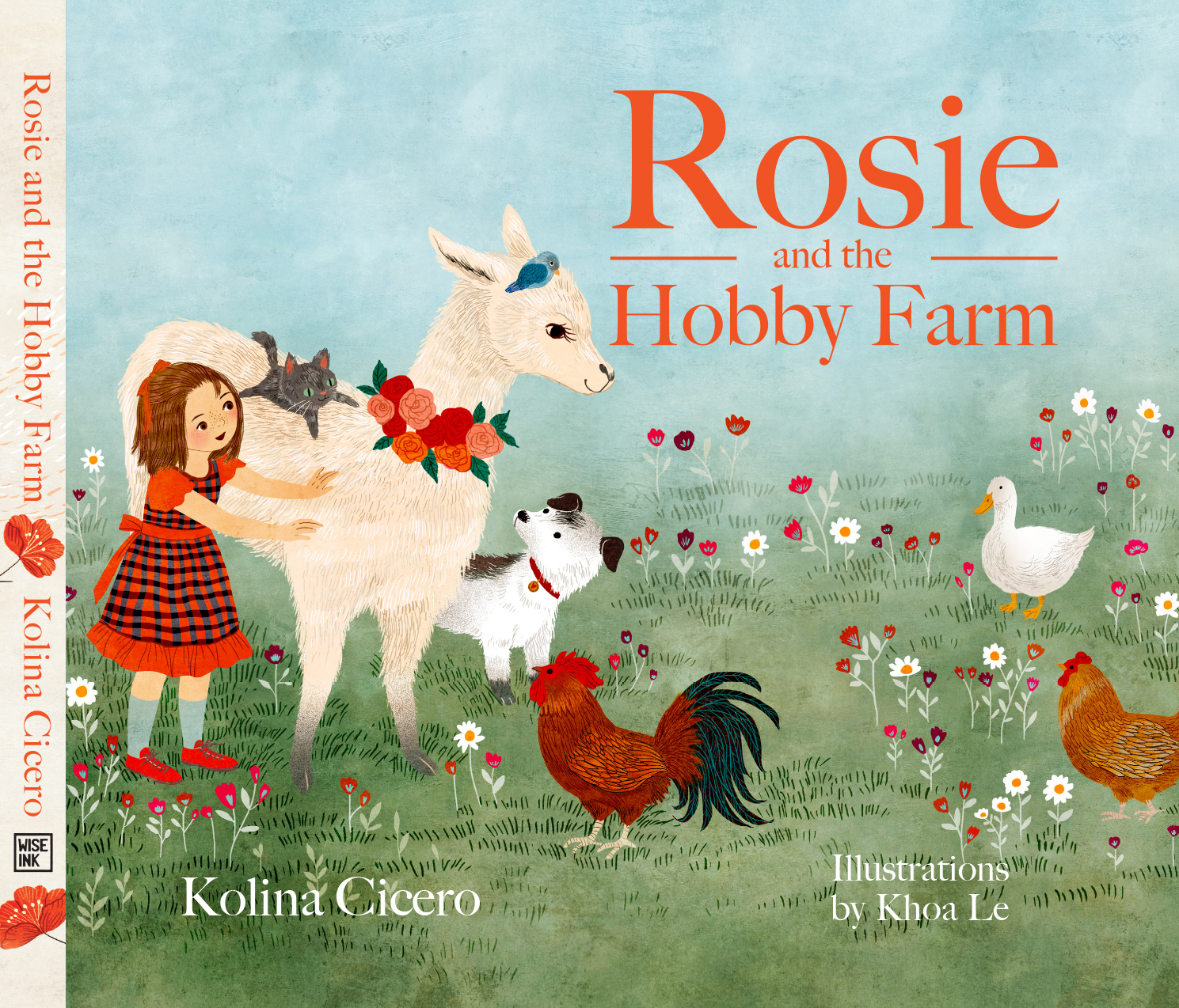 Rosie and the Hobby Farm book design by Aurora Whittet Best