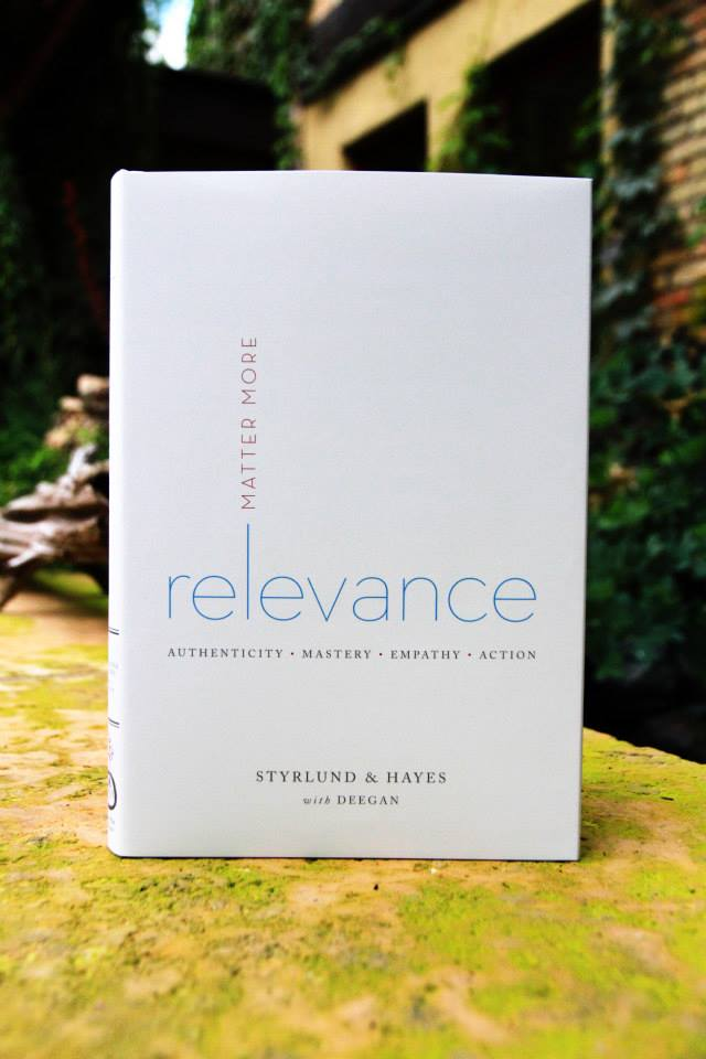 Relevance Matter More book design by Aurora Whittet Best of Red Organic