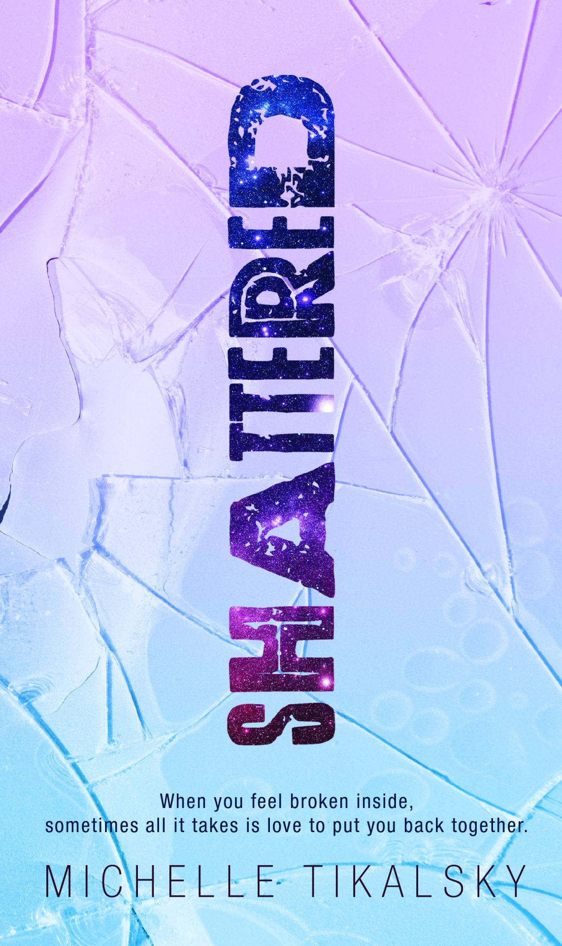 Shattered YA Novel book design by Aurora Whittet Best of Red Organic